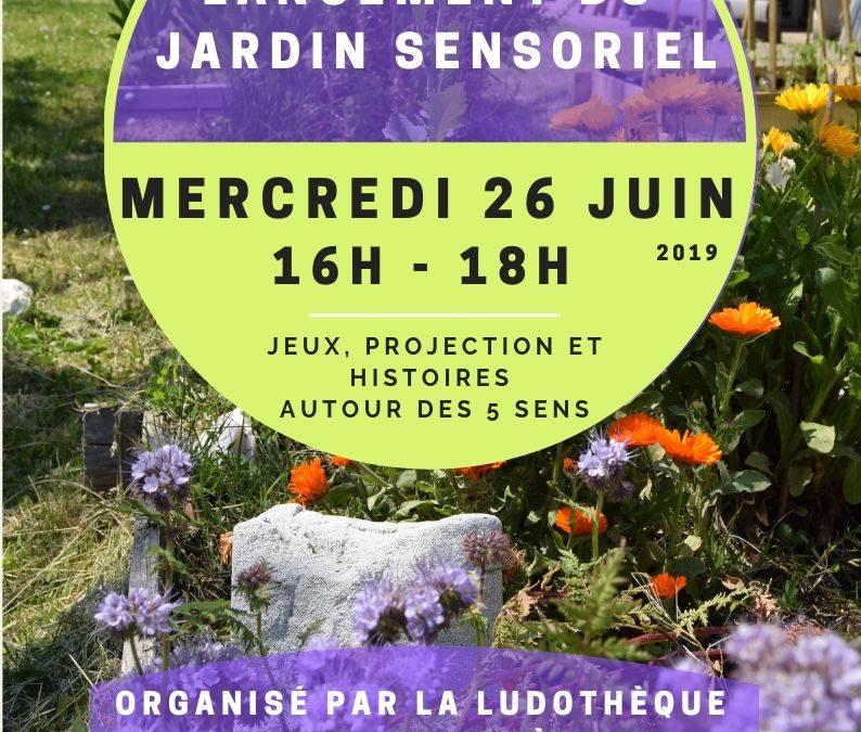 Lancement du Jardin Sensoriel