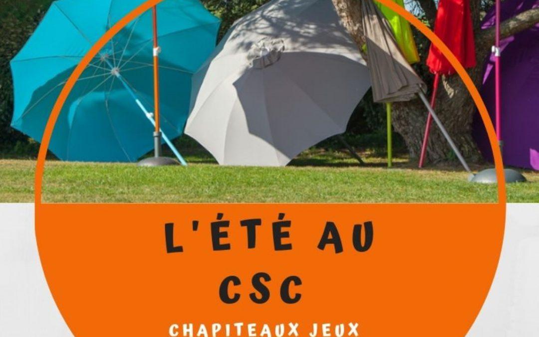 L'été au CSC