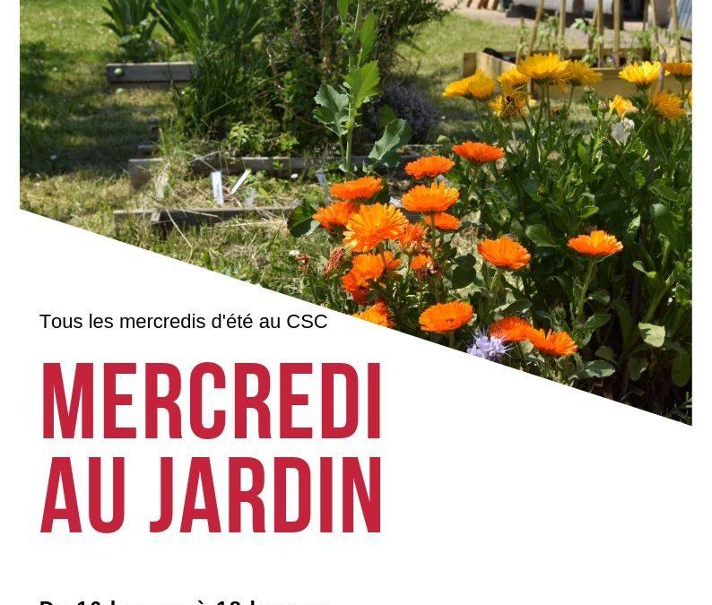 Mercredi au Jardin