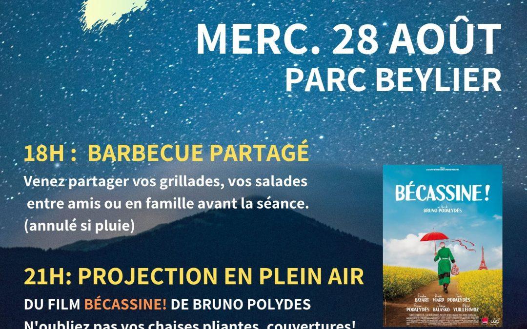 Cinéma Plein Air et Barbecue