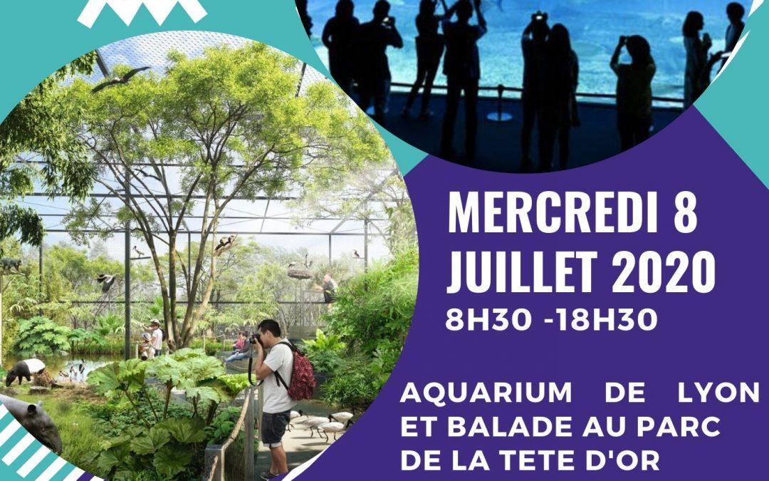 Sortie pour Tous à l'Aquarium de Lyon
