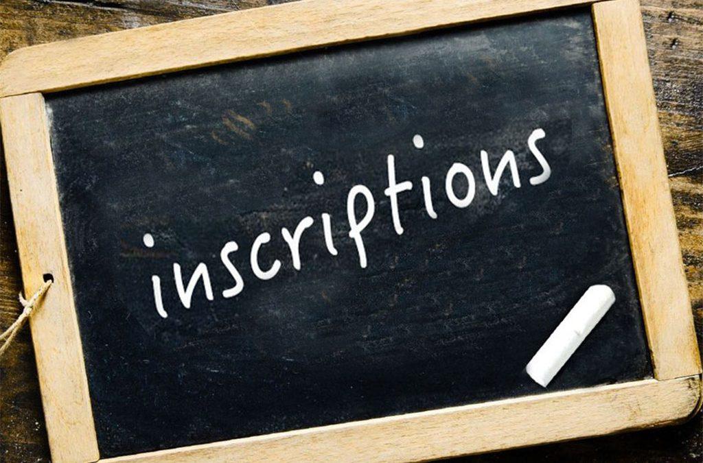 Inscription aux activités culturelles et de loisirs