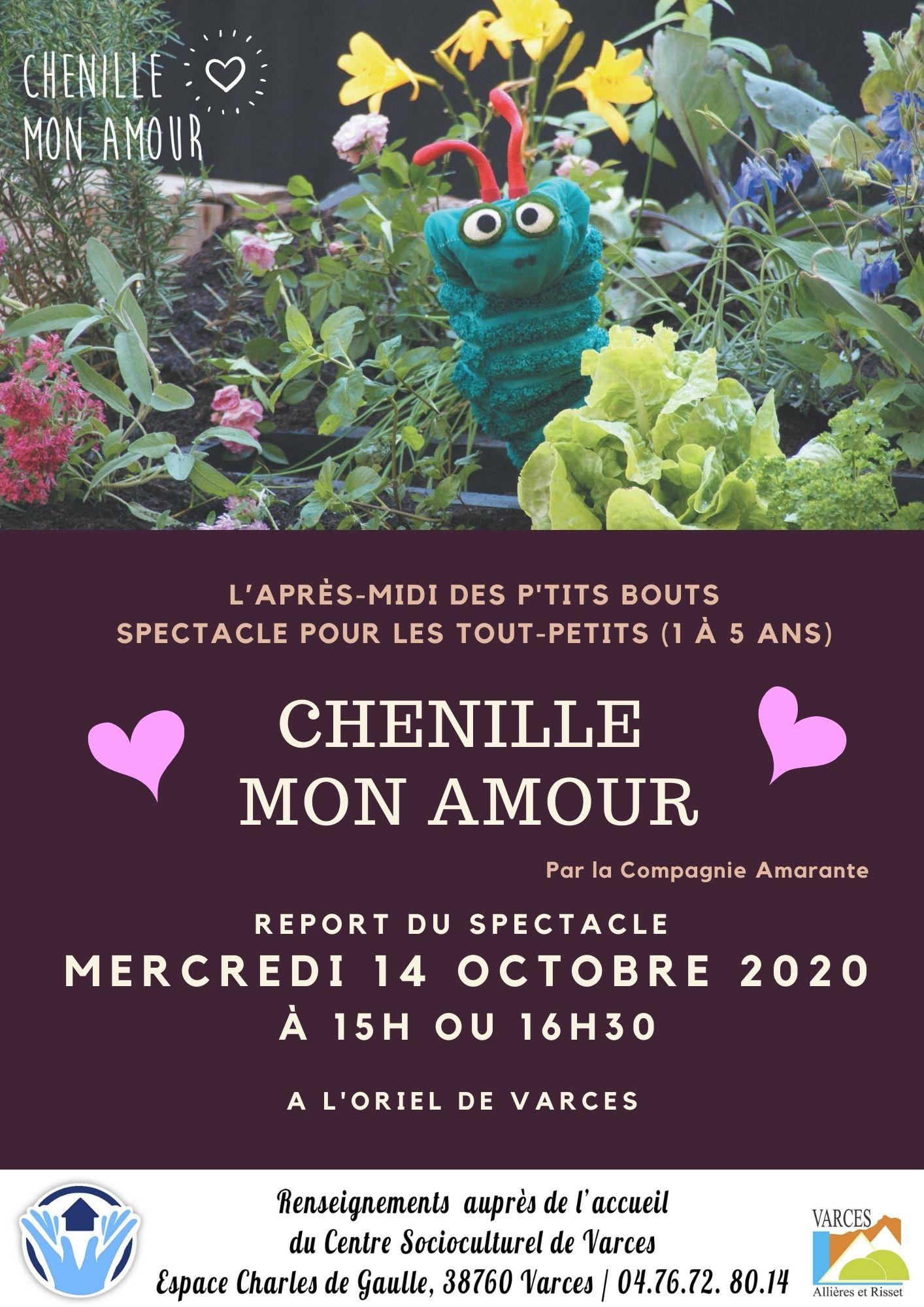 Copie de CHENILLE MON Amour