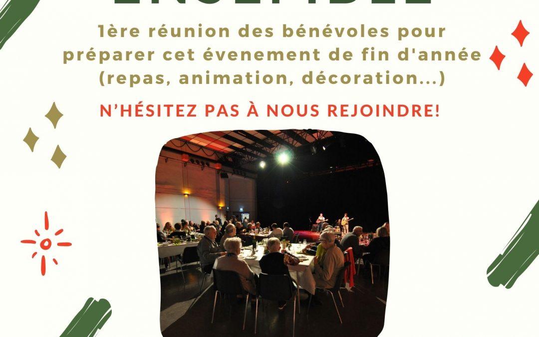 Réunion de préparation de «Fêtons Noël ensemble»