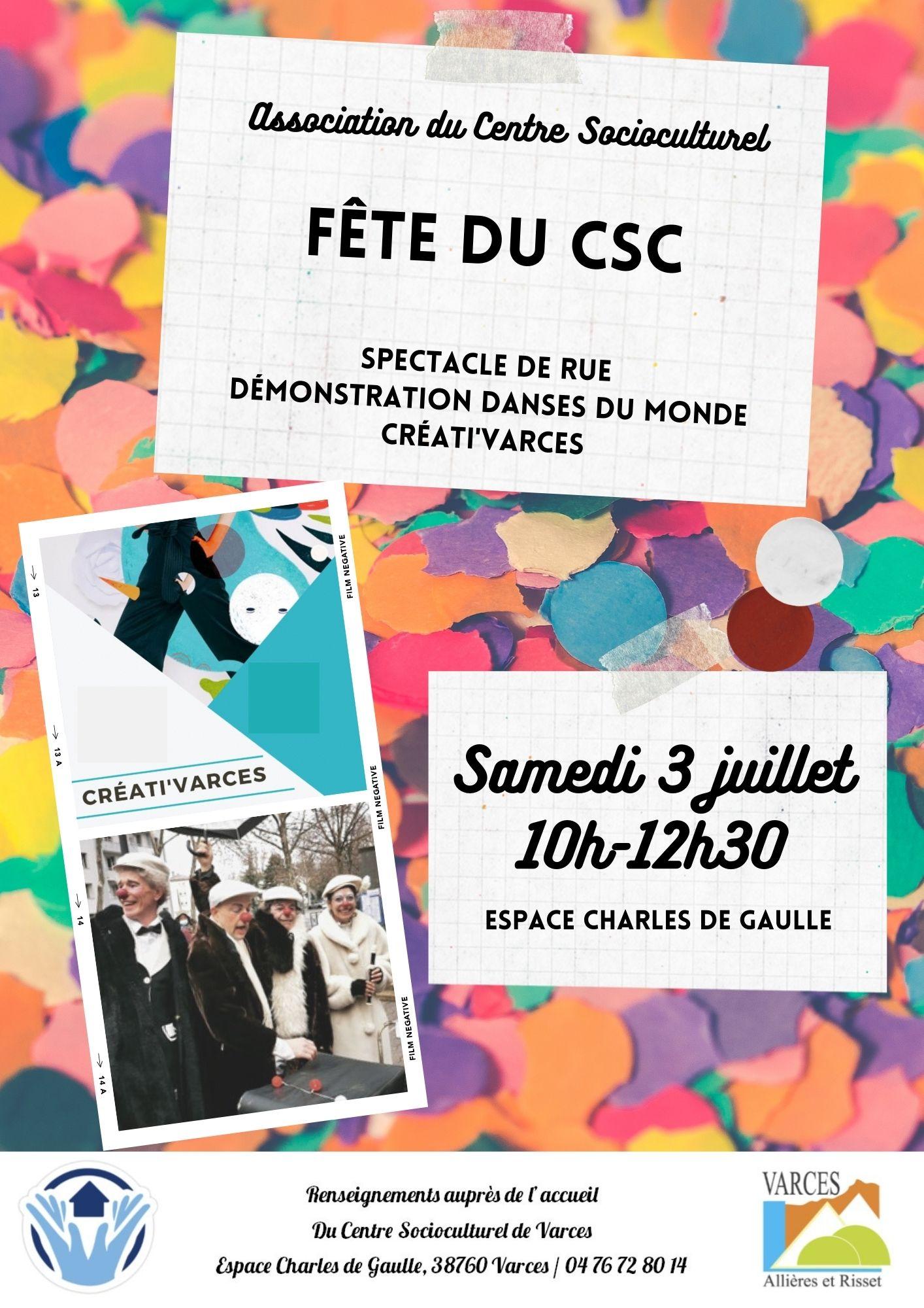 fête du CSC